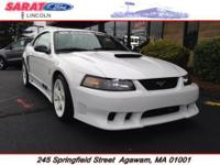 Sarat Ford is excited to offer this 2001 Ford Mustang.