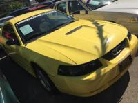 Options:  2001 Ford Mustang Base 2Dr