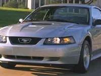 This 2001 Ford Mustang 2dr 2dr Coupe Standard features