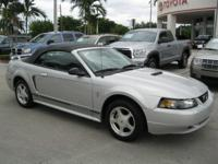 Options Included: N/AThe 2001 Ford Mustang Convertible
