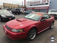 New Price! Red 2001 Ford Mustang GT Premium 4.6L V8