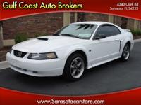 Options Included: N/A2001 FORD MUSTANG GT COUPE! 8 CYL!