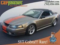 Options:  2001 Ford Mustang Svt Cobra Base Svt Cobra