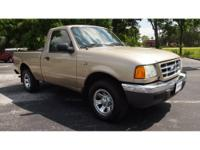 Great 2001 Ford Ranger XLT. This is the right truck for