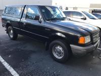 Options:  2001 Ford Ranger Black 2.3L 4 Cyls 2