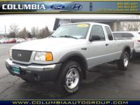 This 2001 Ford Ranger XLT is a real winner with