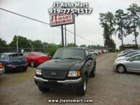 This 2001 Ford Ranger is a 2 owner vehicle and is
