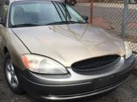 Selling my 2001 ford Taurus LX which runs good and has