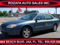 This is a very nice 2001 Ford Taurus It has very good