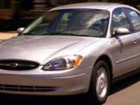 Options:  2001 Ford Taurus Ses|Red/|V6 3.0L