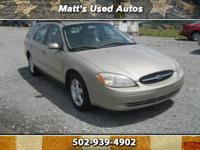2001 Ford Taurus Wagon SES, Affordable & Dependable,
