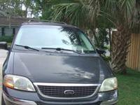 2001 Ford Windstar Limited Handicapped Mini-van. Black.