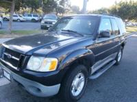 2001 FORD EXPLORER SPORT SUPER CLEAN V-6 NO LEAKS OR