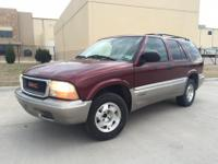 2001 GMC Jimmy...Burgundy with tan leather