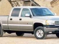 Options:  2001 Gmc Sierra 2500Hd|Gray/|V8 6.6L |244120