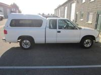 2001 GMC Sonoma Crew Cab with a Deluxe Leer Shell