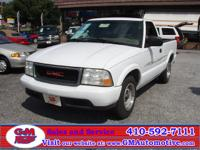 Options Included: 2WD, Power Steering, Power Brakes,