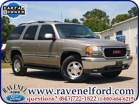 Options Included: 2001 GMC Yukon SLT 4x4 ** One Owner