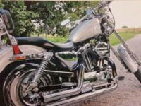 2001 Harley Davidson 1200 Custom Approx 9K miles Front