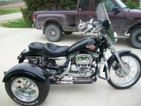 2001 HARLEY DAVIDSON 1200 SPORTSTER WITH TRIKE KIT