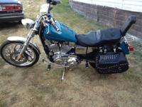 2001 883 Sportster. Nce bike! has dynaglide front end.