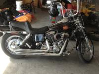 Have a fantastic running and looking 2001 Harley Dyna