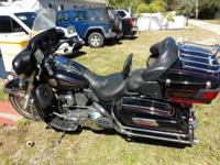 "I have a very nice Harley Electra Glide Classic 5"" air"