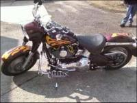 Description Fully loaded, very low miles, custom bike,