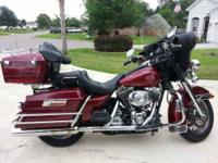 2001 Harley Davidson in Excellent Condition Royal Red