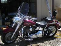 2001 Harley Davidson FLSTFI Fat Boy. 2001 Harley
