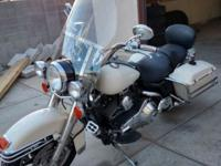 I have a 2001 Harley-Davidson FXDP Police edition for