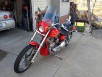 2001 Harley Davidson FXDWG2 CVO Dyna Wide Glide Limited