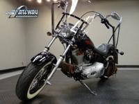 Available for sale is a 2001 Harley-Davidson FXSTI