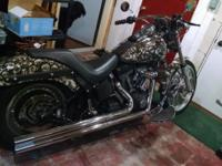 2001 Custom Harley Davidson Night Train. Excellent