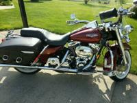 2001 Harley Davidson Road King in immaculate condition.