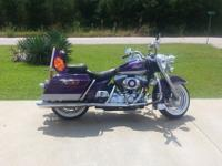 2001 Harley Road King 20,000 miles. Alpine Sound