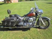 I am selling my Harley. This is a 2001 Road King