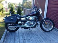 2001 Harley Davidson Superglide. 88 ci. Custom marble