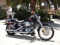 2001 Dyna Wide Glide, approx. 2500 miles on this one.