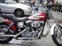 2001 Harley Davidson Dyna Wide Glide, 1450cc, Lots of