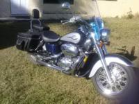 2001 Harley Heritage Softail Extra Chrome, Just