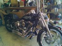 For sale 2001 Harley night train lots of chrome, 18""