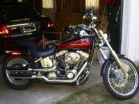 We have this Harley lots of chrome with very low miles