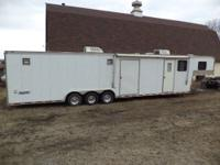 2001 Haulmark Edge 42' with 24' in cargo area. Ideal to