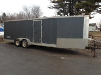 Marketing 2001 Snow sled trailer. Trailer is 6' vast