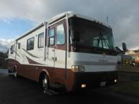 2001 HOLIDAY RAMBLER ENDEAVOR-330 HP DIESEL,7.5 DIESEL