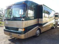 We are selling a very nice 2001 Holiday Rambler Scepter