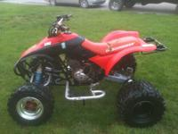 I have for sale a 2001 Honda 300ex that is set up for