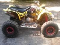 2001 Honda 400ex ATV 4 wheeler. Tired to a 440. It has