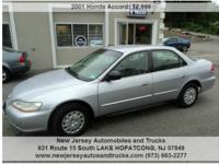 2001 Honda Accord Cost: $2,999. Mileage: 172,800. Body: